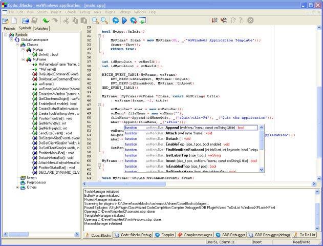 Code::Blocks / Wiki / Home