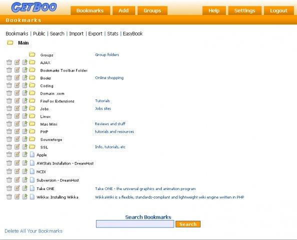 GetBoo screenshot