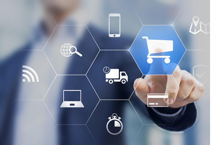 ecommerce product data management concept