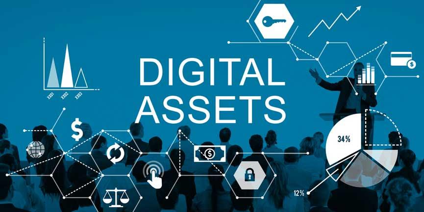 digital asset management business concept