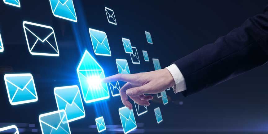 email marketing sending out emails