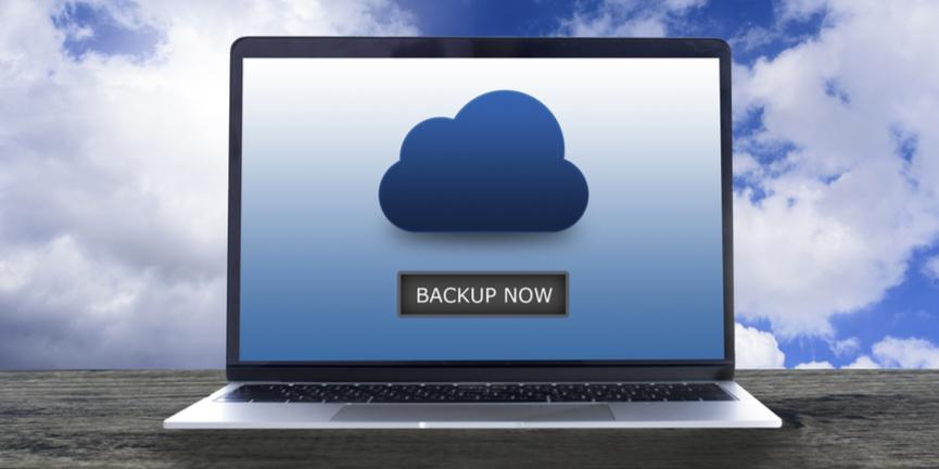cloud backup concept