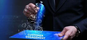 customer engagement concept