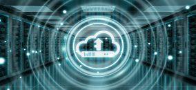cloud edge computing concept