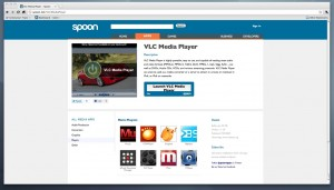VLC Media Player on Spoon