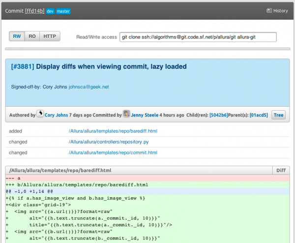 New Commit Viewer