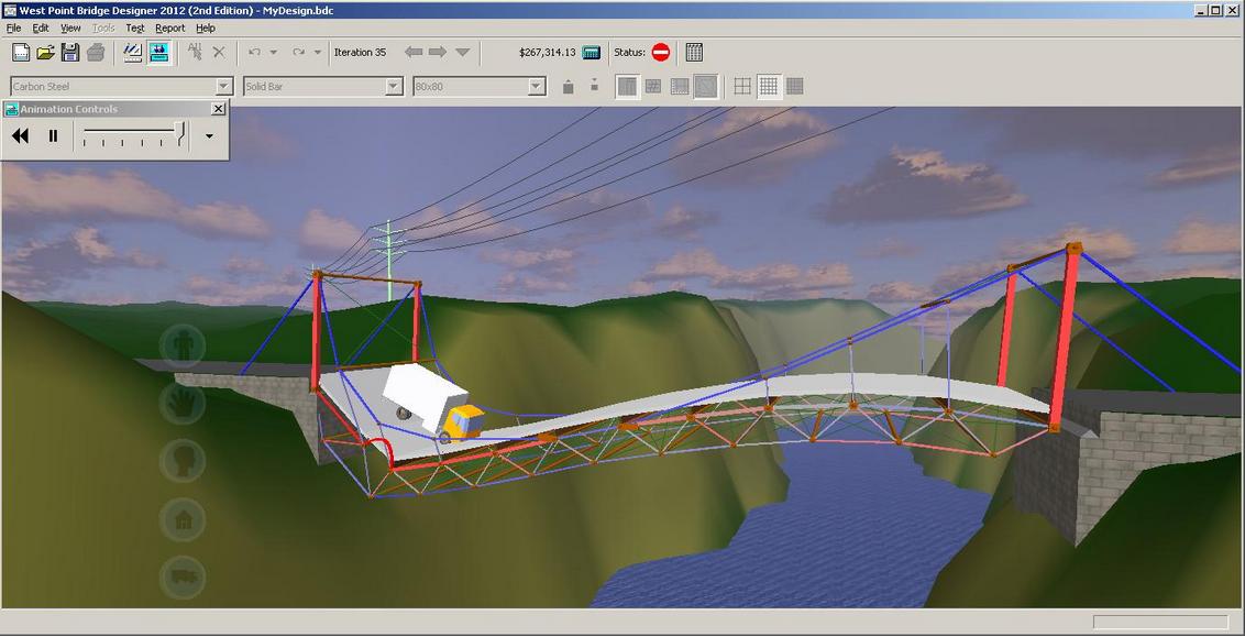 Bridge Building Software