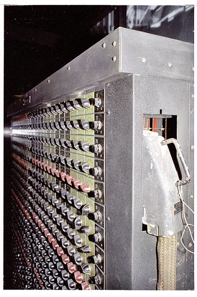 An ENIAC function table on display at Aberdeen Proving Ground museum. Image taken from Wikipedia