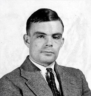 Alan Turing - Image taken from princeton.edu