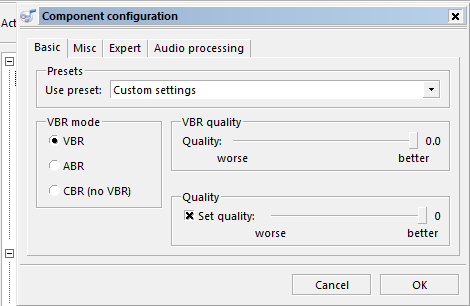 fre:ac - free audio converter / Discussion / 1  Help and
