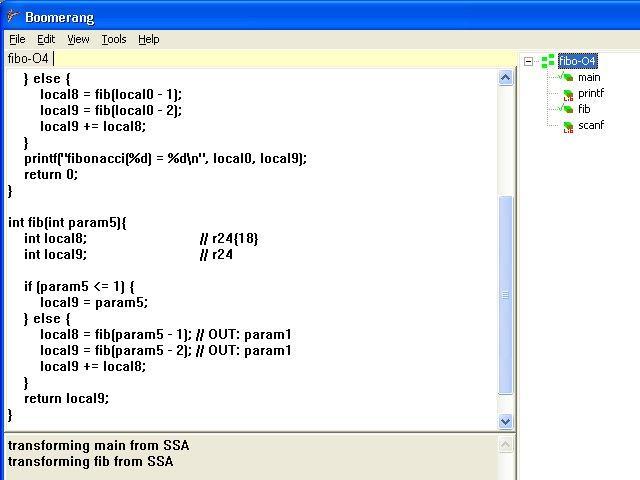 Boomerang decompiler / Wiki / Home