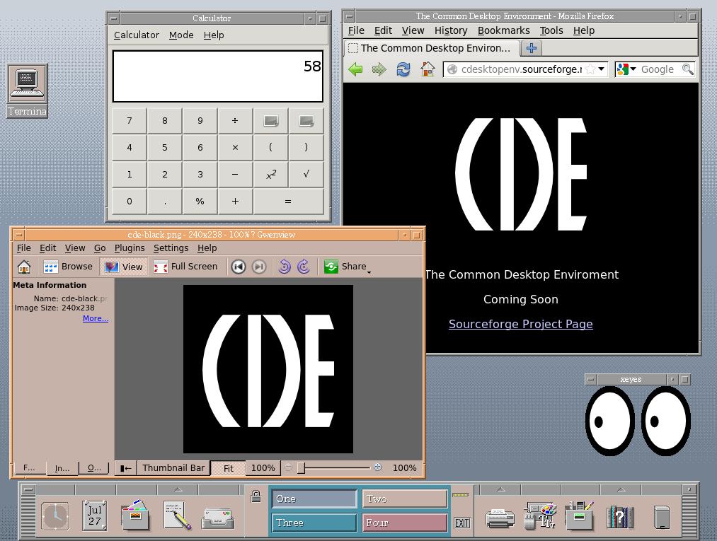 CDE - Common Desktop Environment / Wiki / LinuxBuild