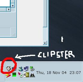 Clipster in the system tray [ Windows ]