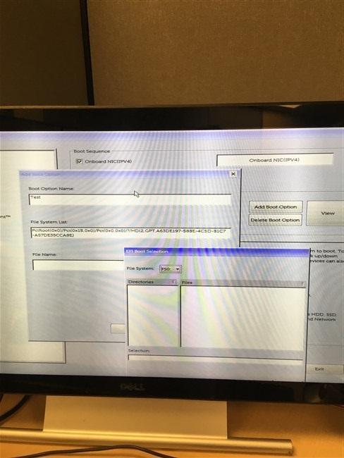Clonezilla / Discussion / Clonezilla live:Dell 7060 image issues