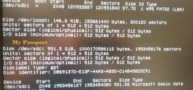 Clonezilla / Discussion / Clonezilla live:Not Showing External USB