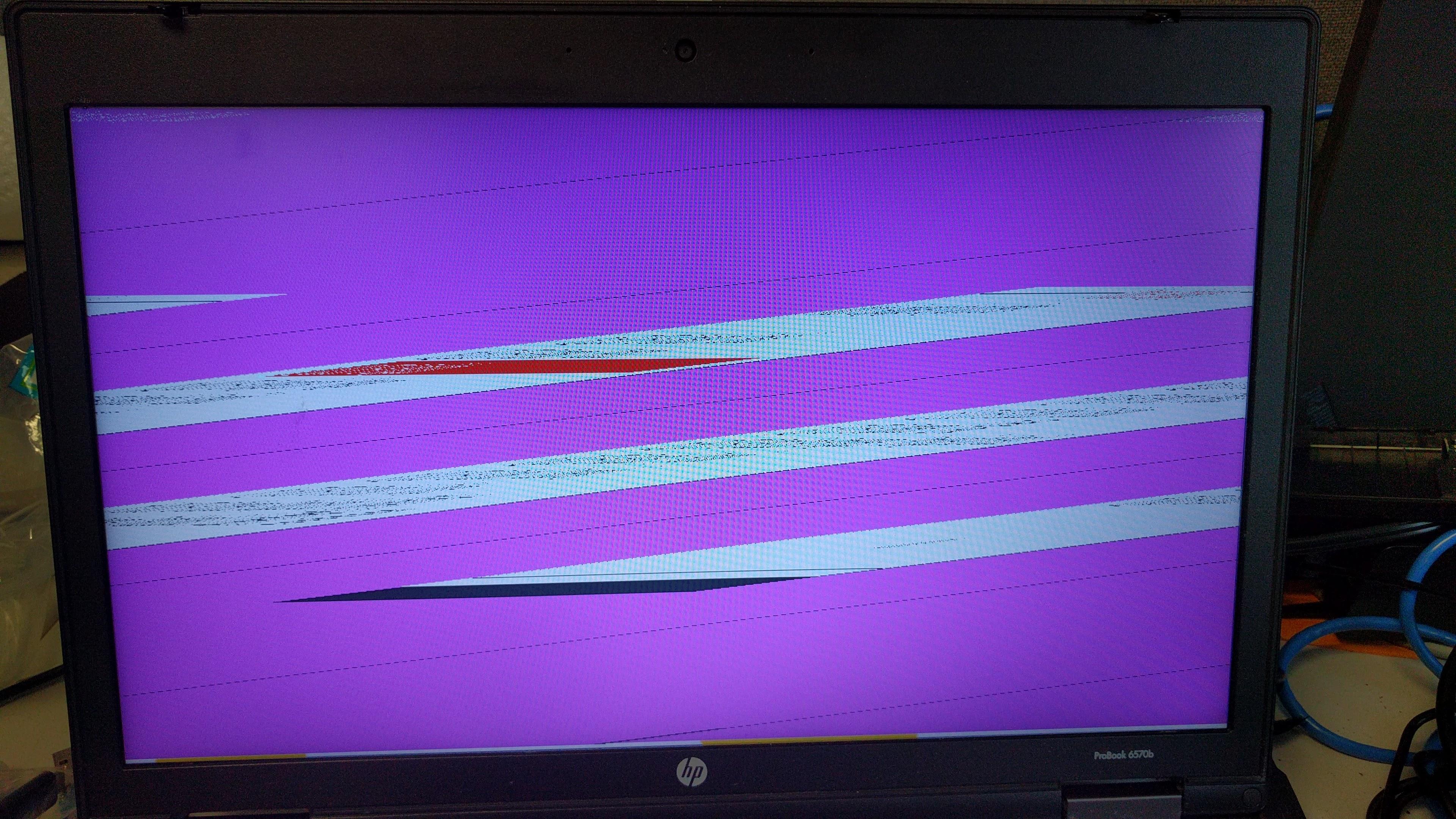 Clonezilla / Discussion / Clonezilla live:HP video problems with