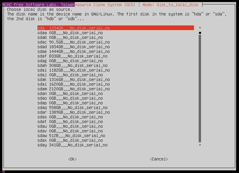 Clonezilla / Discussion / Clonezilla live: Cloning a VMDK to