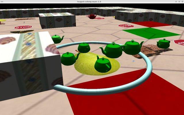 Screenshot du projet