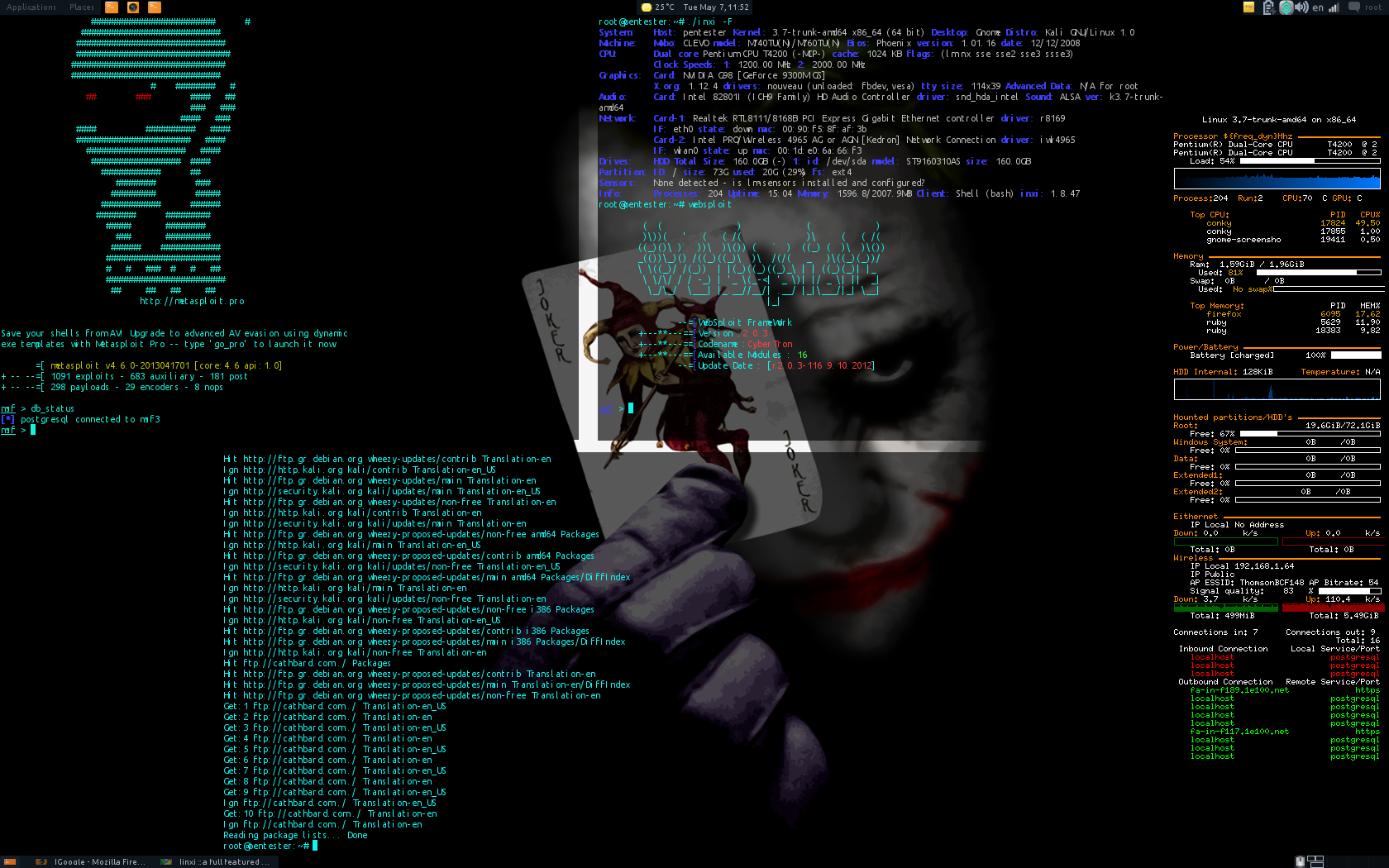 Знакомство kali linux