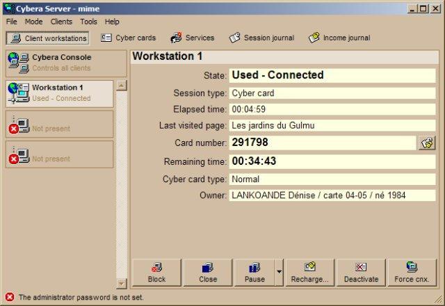 cybera server+client