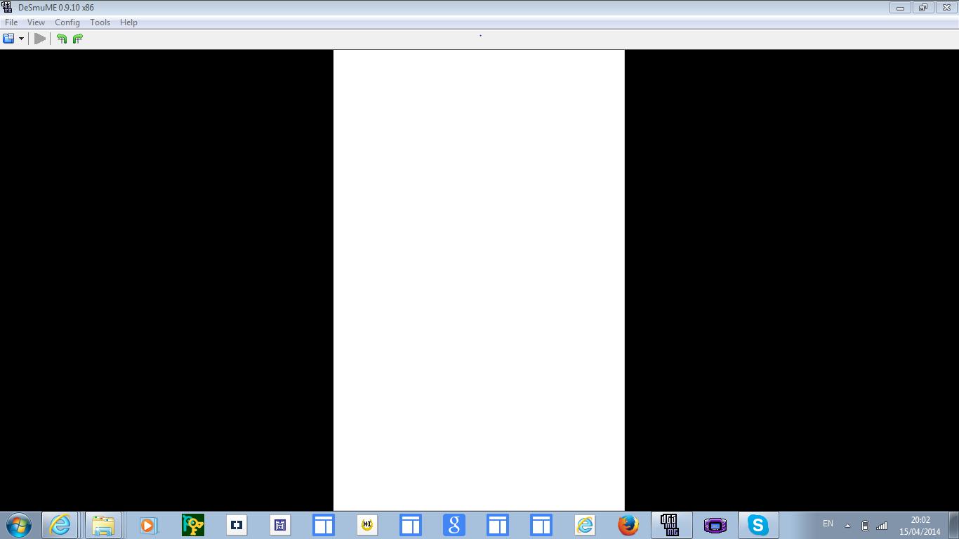DeSmuME / Bugs / #1399 It won't load any ROMs