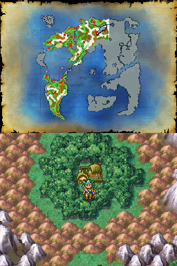 Desmume Bugs 1477 Vanishing Overworld Map Dragon Quest Iv