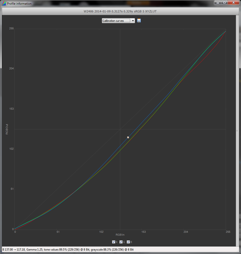 DisplayCAL / Discussion / Help and Support:Which gamma curve for