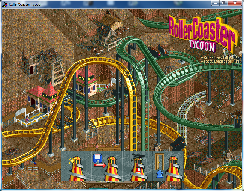 DxWnd / Discussion / General Discussion:RollerCoaster Tycoon