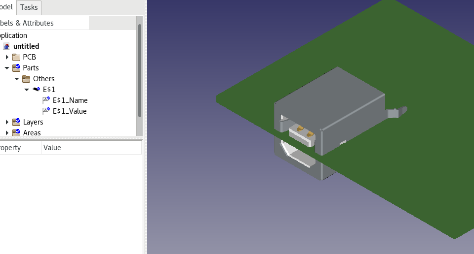 FreeCAD-PCB / Forum / Help:Cannot add new modeld
