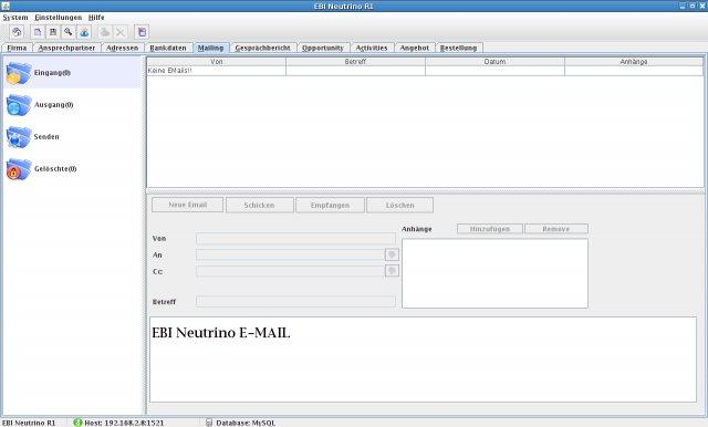 EBI Neutrino R1 (ERP / CRM System|ERP Java|Free ERP Solution