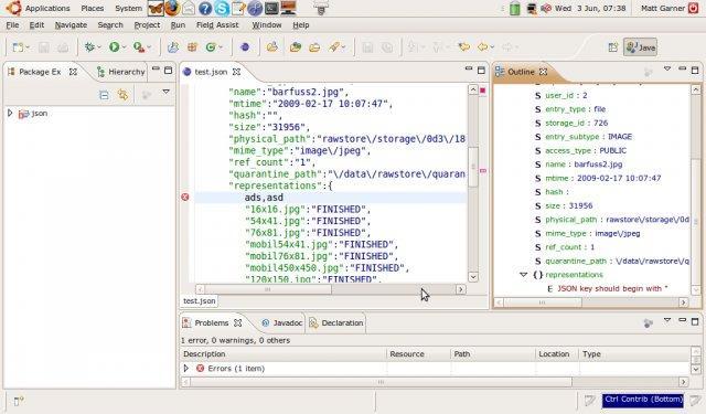 Eclipse Json Editor Plugin / Wiki / Home