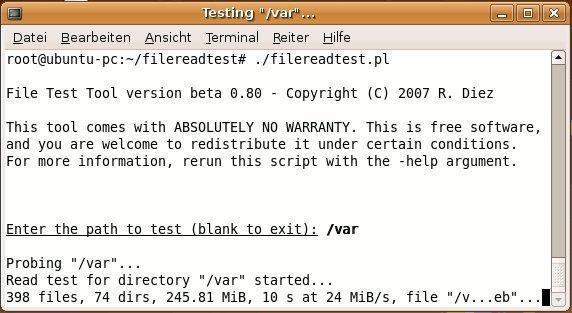 File Read Test / FileReadTestWiki / File Test Tools
