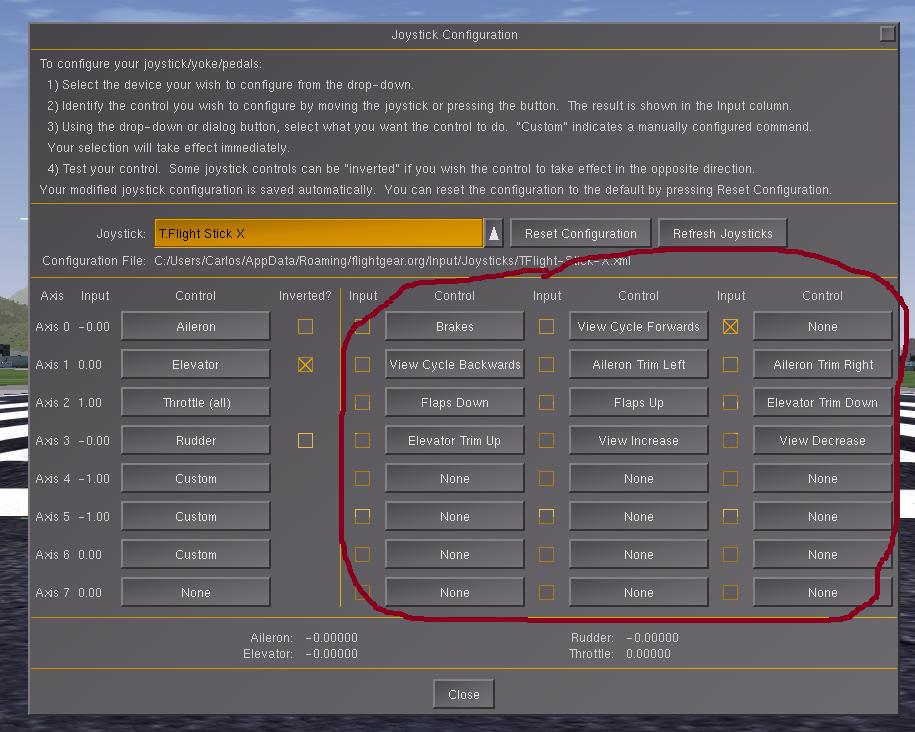FlightGear - Flight Simulator / Tickets / #2039 joystick