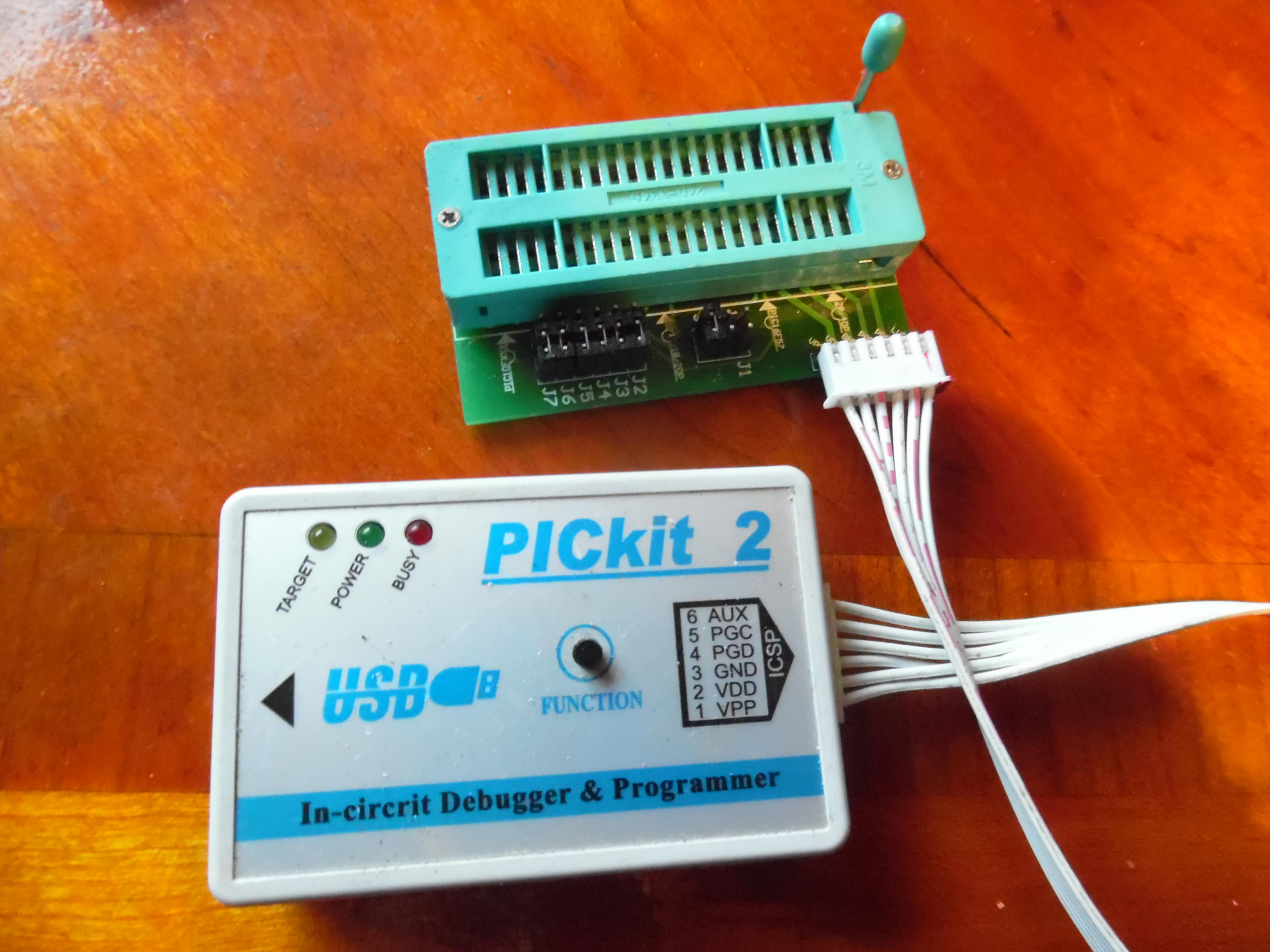 Great Cow Basic Discussion Open Discussionpickit2plus And Original Pickit 2 Microcontroller Programmer If