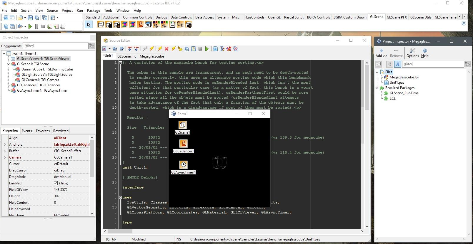 GLScene / Wiki / Lazarus Installation