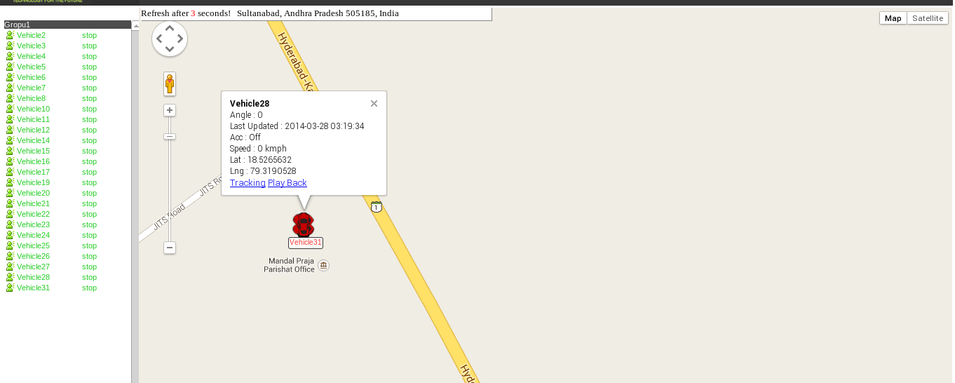 GPS Tracking system using Traccar Server / Discussion