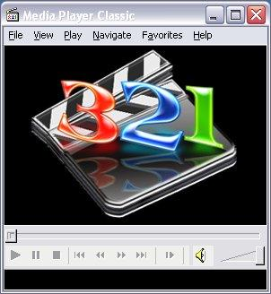 Captura de pantalla de Media Player Classic