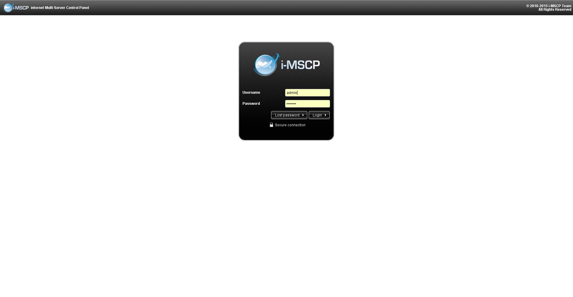 iMSCP - Multi-Server Control Panel / Wiki / Home