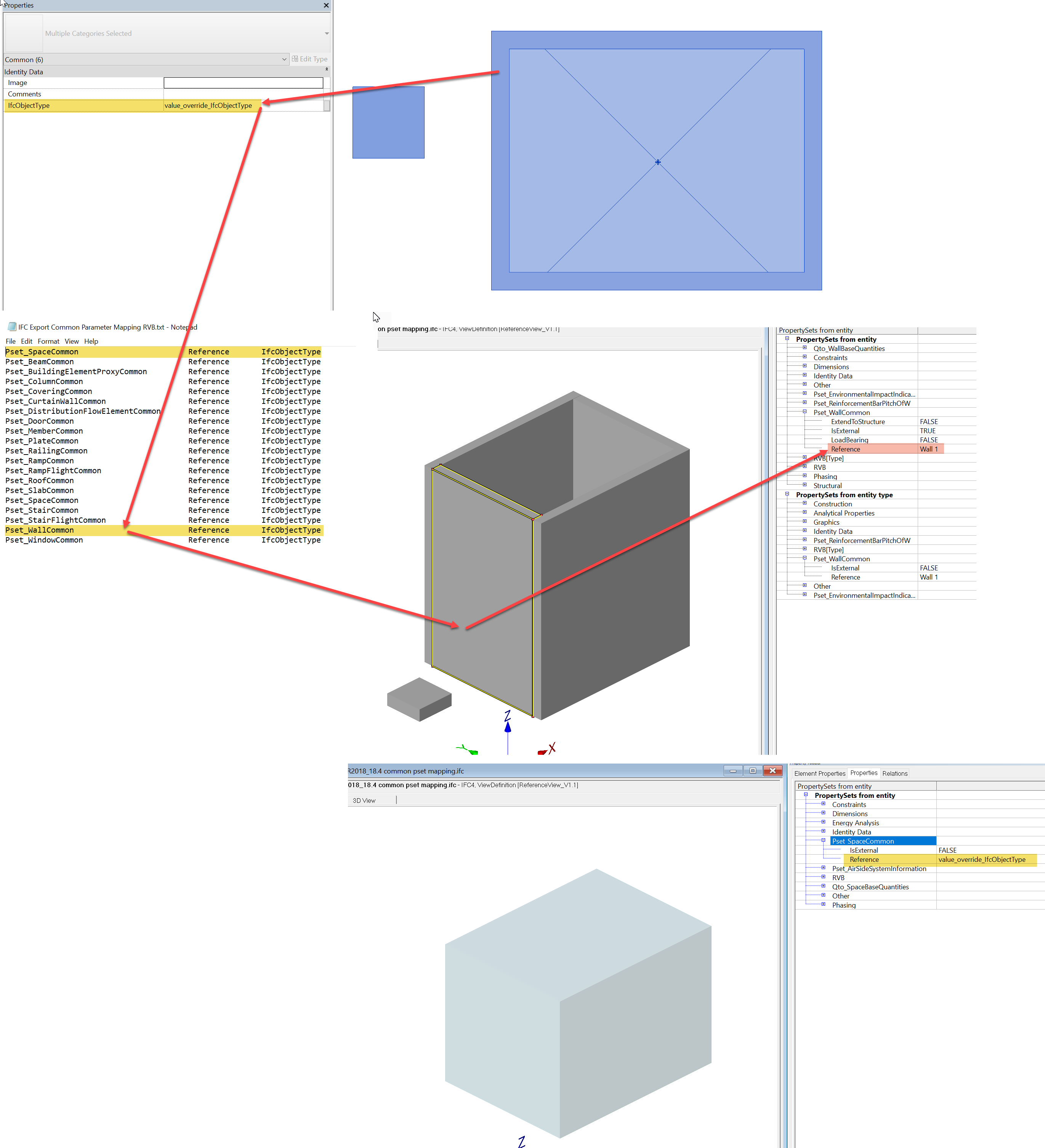 IFC for Revit / Discussion / General Discussion:Pset Common mapping