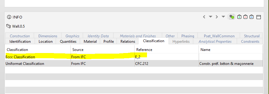 IFC for Revit / Discussion / General Discussion:Revit Classification
