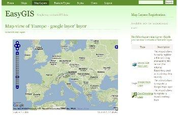DashBoard - google map layers