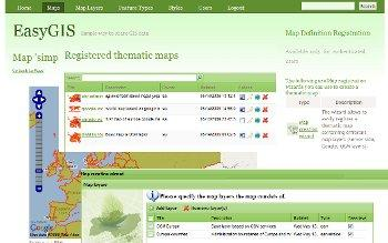DashBoard - thematic maps
