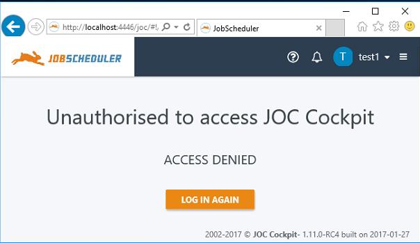 JobScheduler / Discussion / Help:JOC Cockpit LDAP Authentication