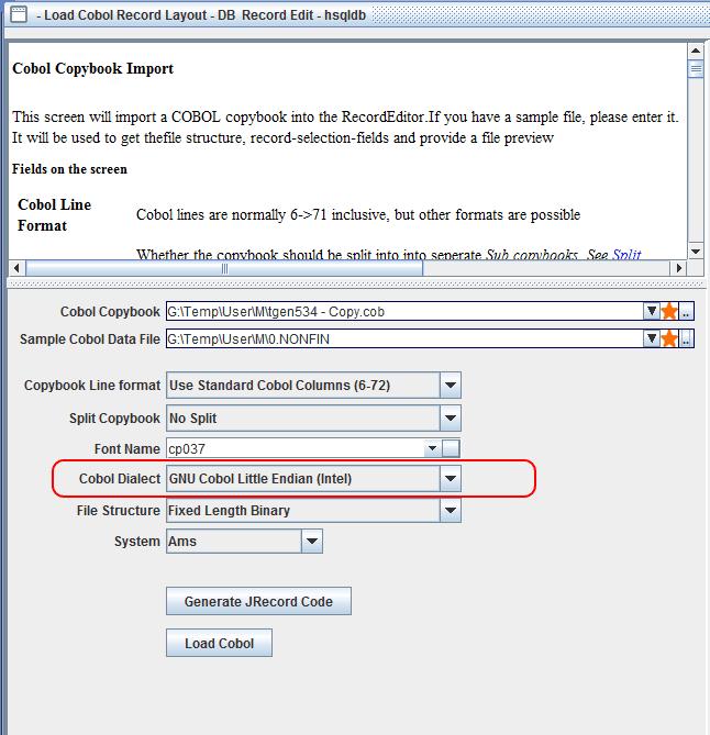 JRecord / Bugs / #24 Cobol copybook - Certain field conversions not