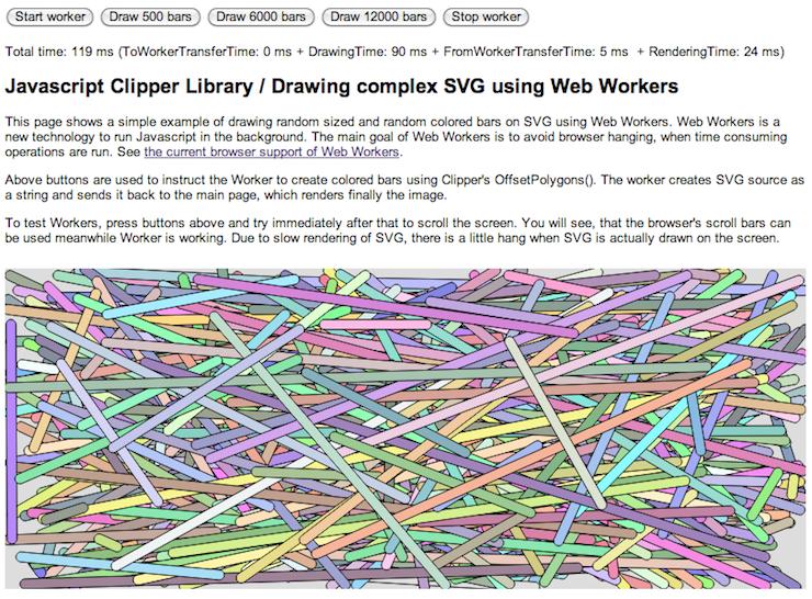 Javascript Clipper / Wiki / Web Workers 5