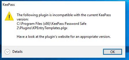 KeePass / Discussion / Help:Plugin installation issue