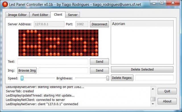 P10 rgb led bubble wall matrix display software download control.