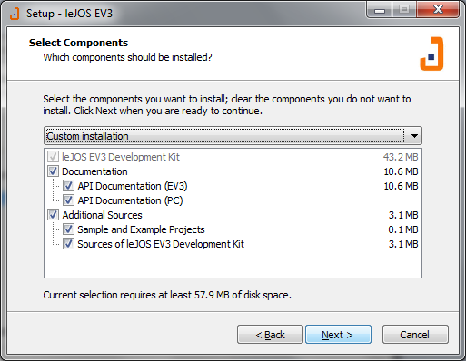 leJOS / EV3 Wiki / Windows Installation