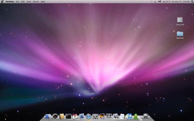 How To Make An Ubuntu 11.04 Classic Desktop Resemble A Mac ...