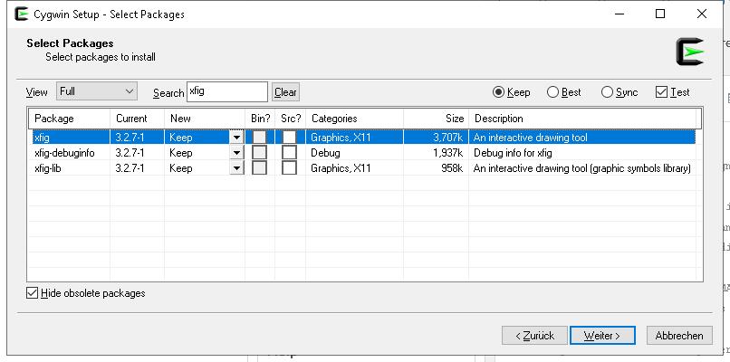 Xfig / Tickets / #44 Install xfig 3 2 7a on Cygwin
